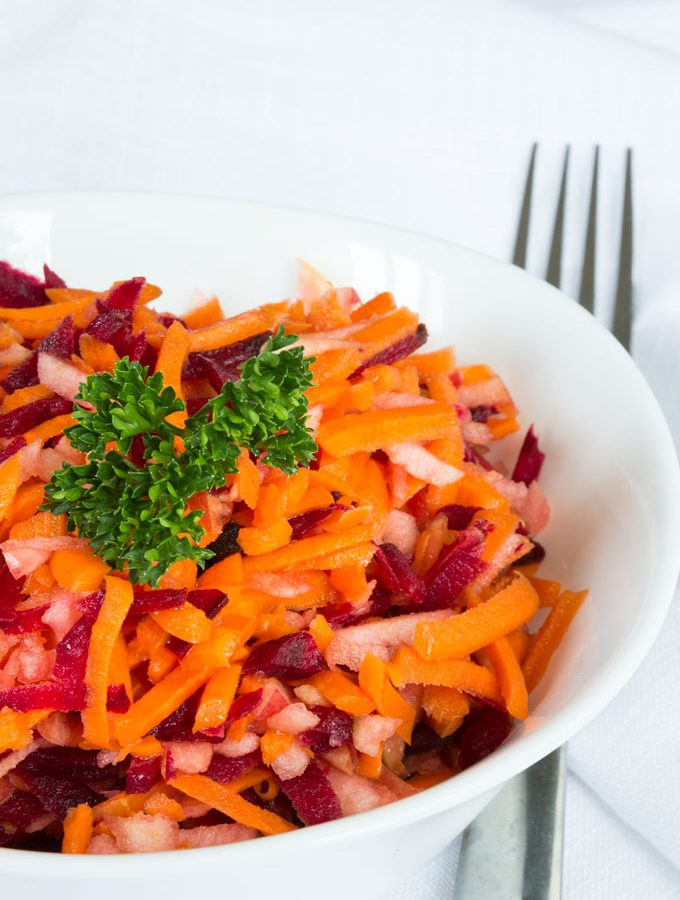 apple beet carrot slaw