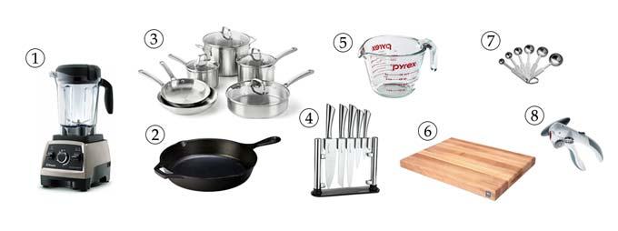 kitchen tools for vegan chili