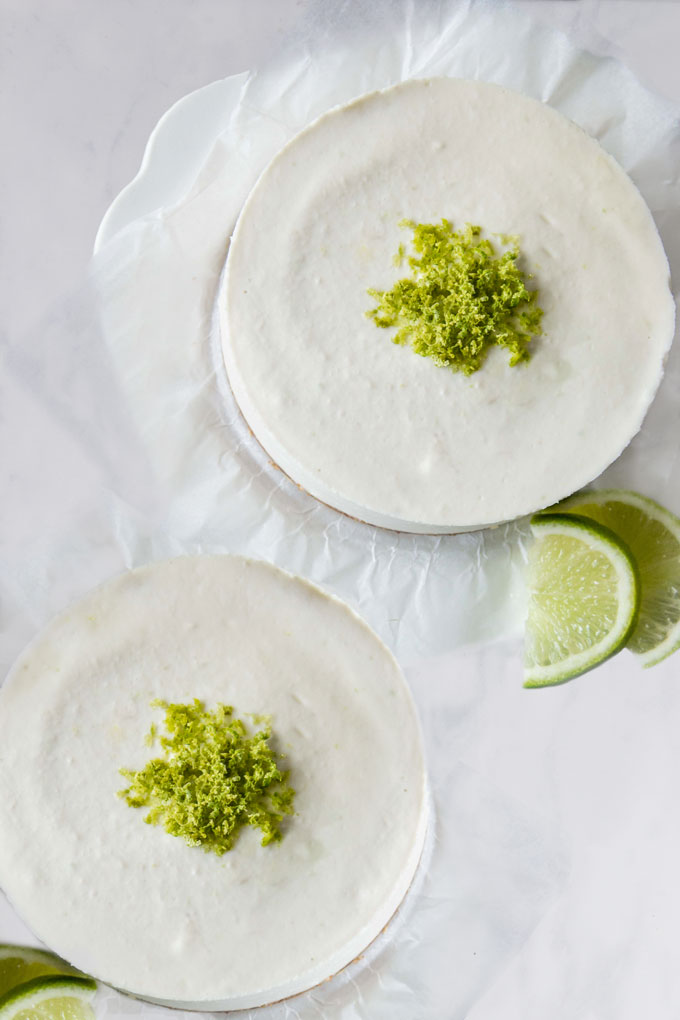 Raw Lime Cheesecake {Video}