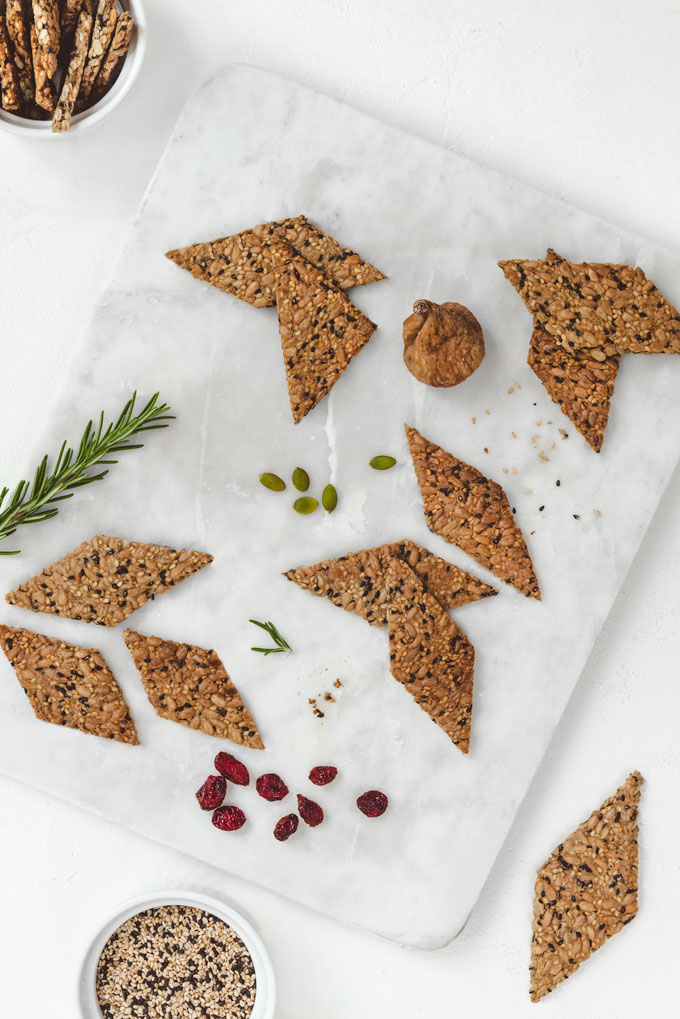 Seed Crackers {Video}