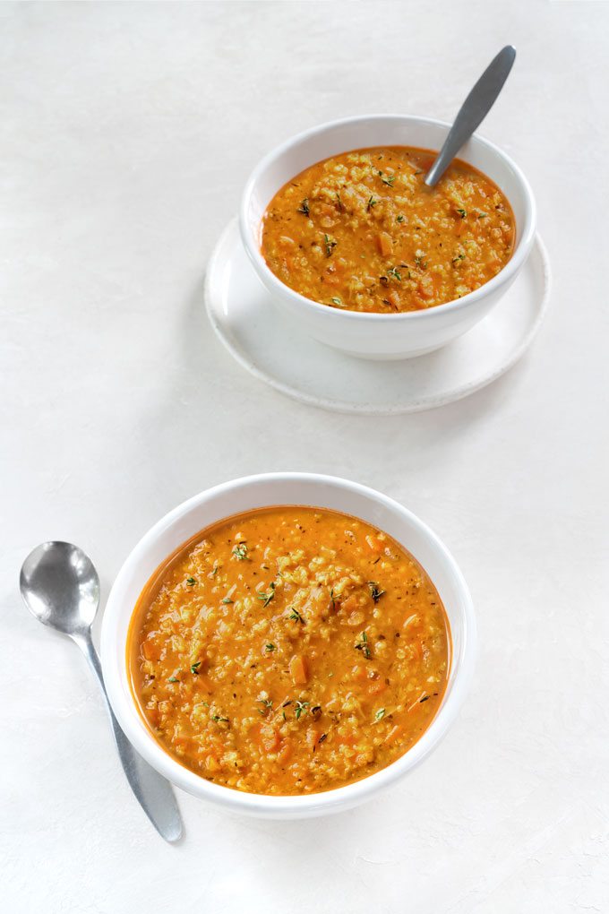 Red Lentil Soup {Video}