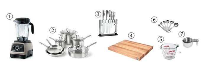 kitchen tools for vegan mac & cheese