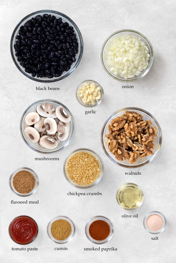 veggie burger ingredients
