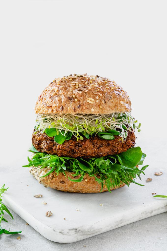 Veggie Burgers {Video}