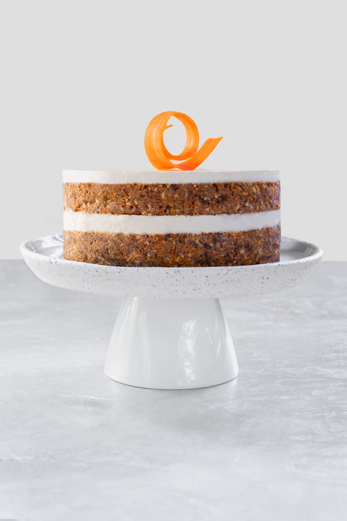Raw Carrot Cake {Video}