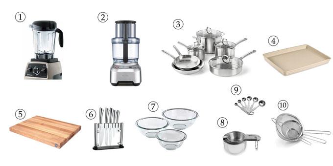 kitchen tools for Caesar salad