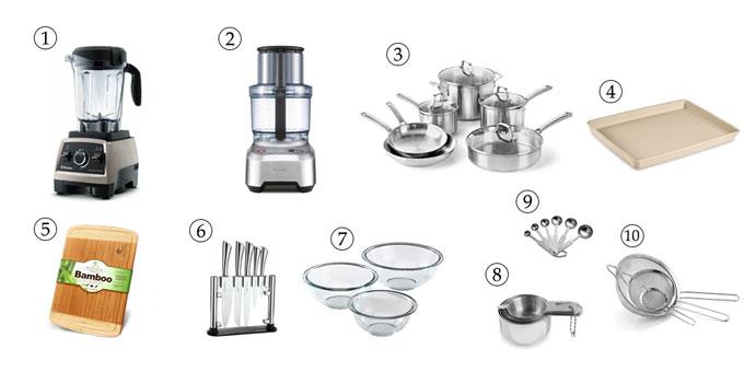 kitchen tools for vegan Caesar salad