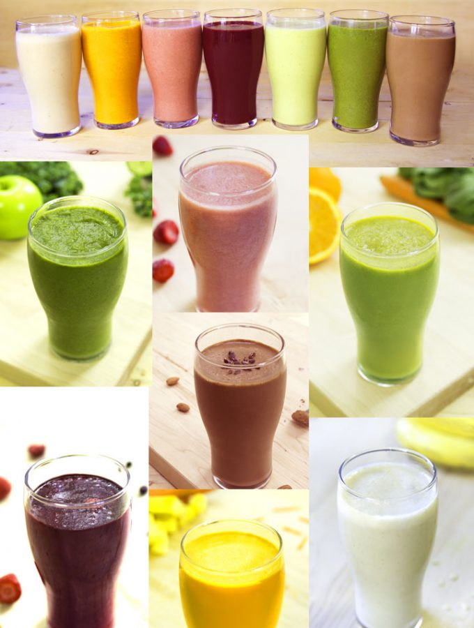 healthy vegan smoothie recipes