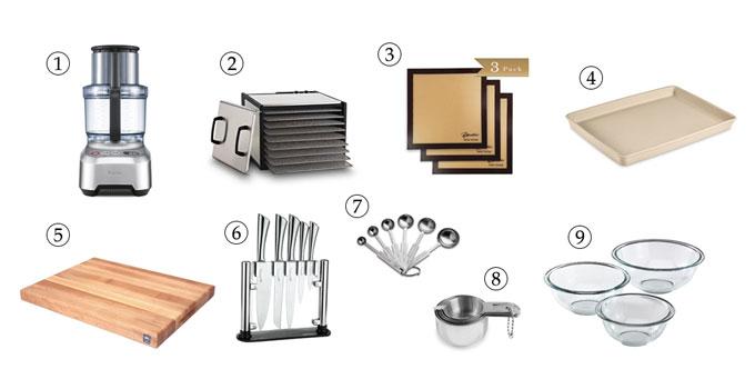 kitchen tools for grain-free granola