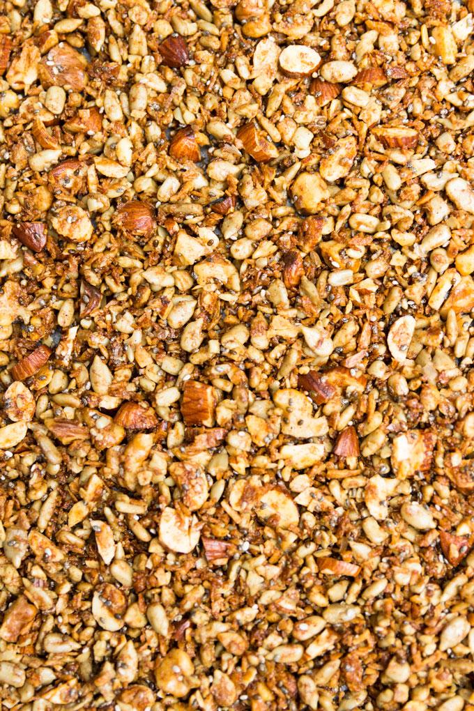 raw grain-free granola