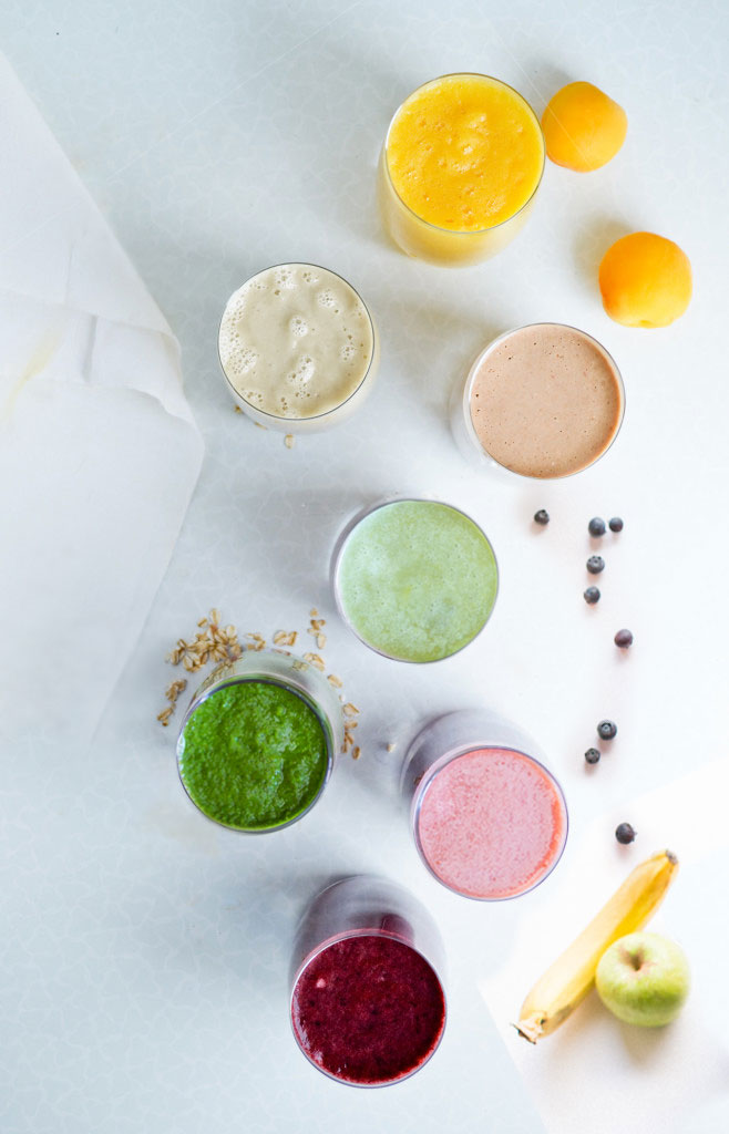 7 healthy smoothies - vegan