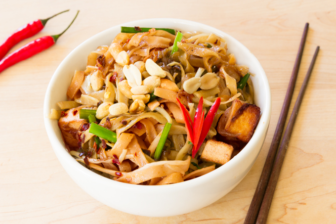 traditional vegan pad Thai