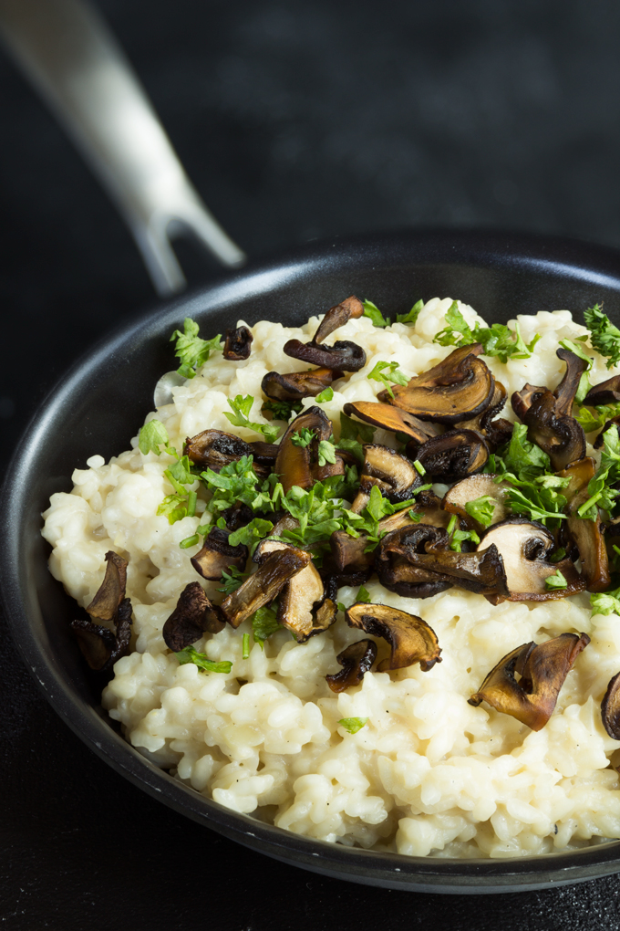 Mushroom Risotto {Video}