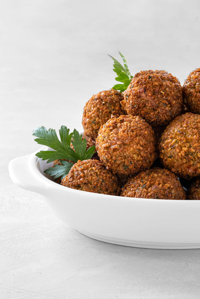 Crispy Falafel {Video}