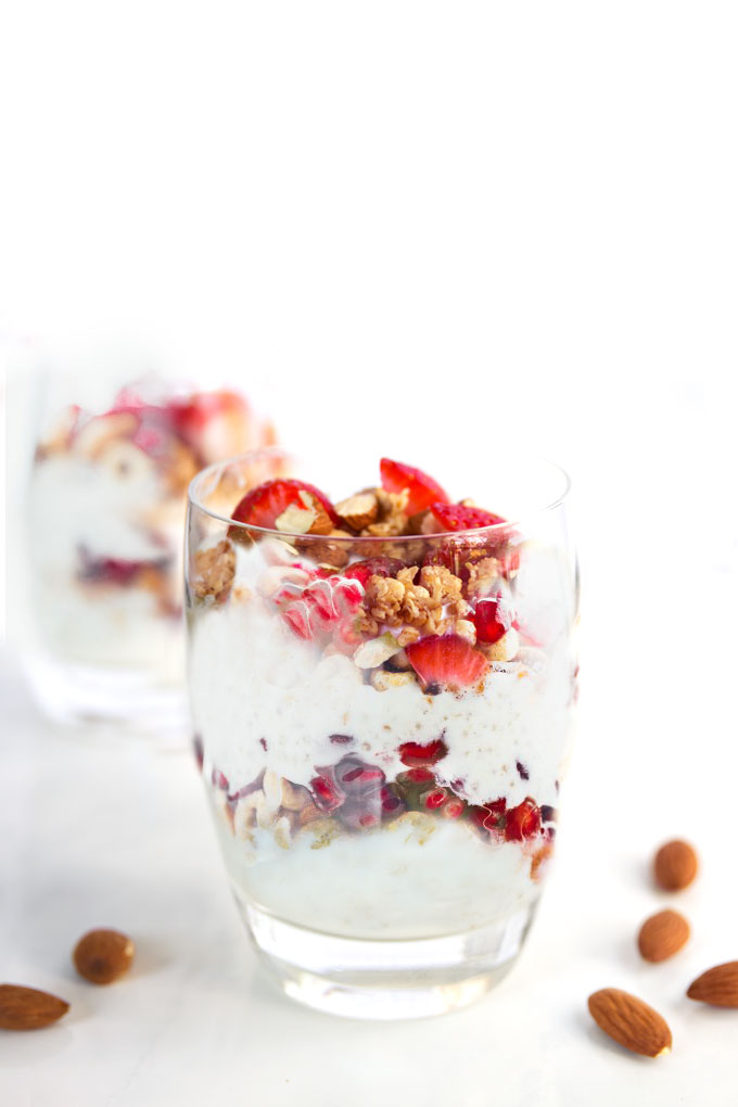 coconut yogurt parfait - vegan, paleo