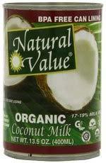 Natural Value coconut milk