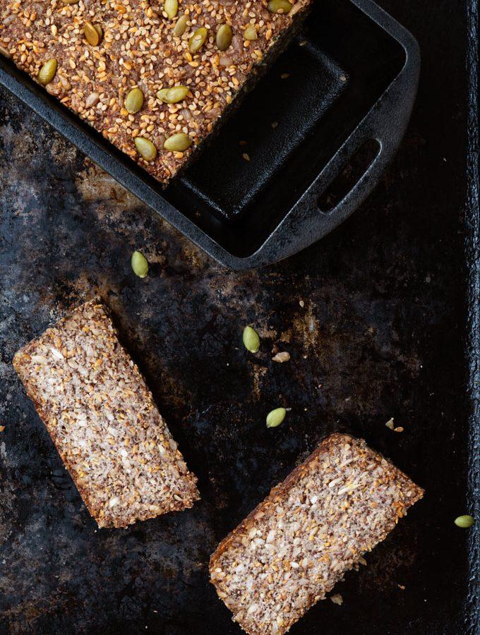 nut and seed bread - vegan, paleo