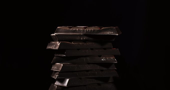tempering chocolate - dark tempered chocolate