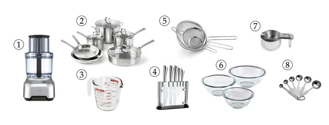 kitchen tools for hummus