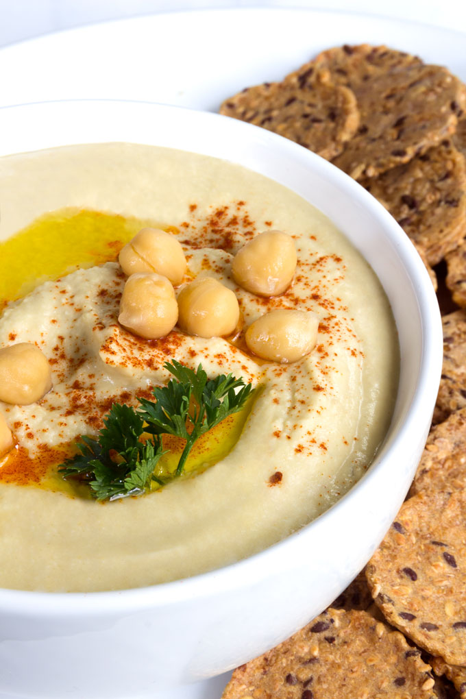 sprouted hummus