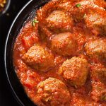 vegan meatballs with tempeh
