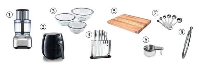 kitchen tools for vegan meatballs