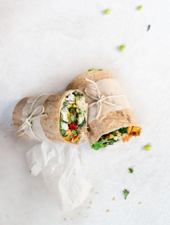 flaxseed wraps - vegan, paleo, keto