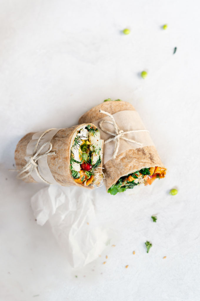 Flaxseed Wraps {Video}