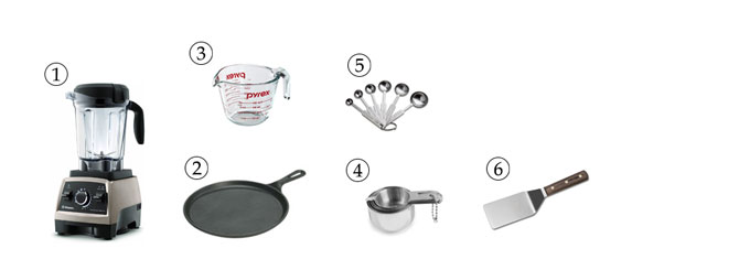 kitchen tools for crepes