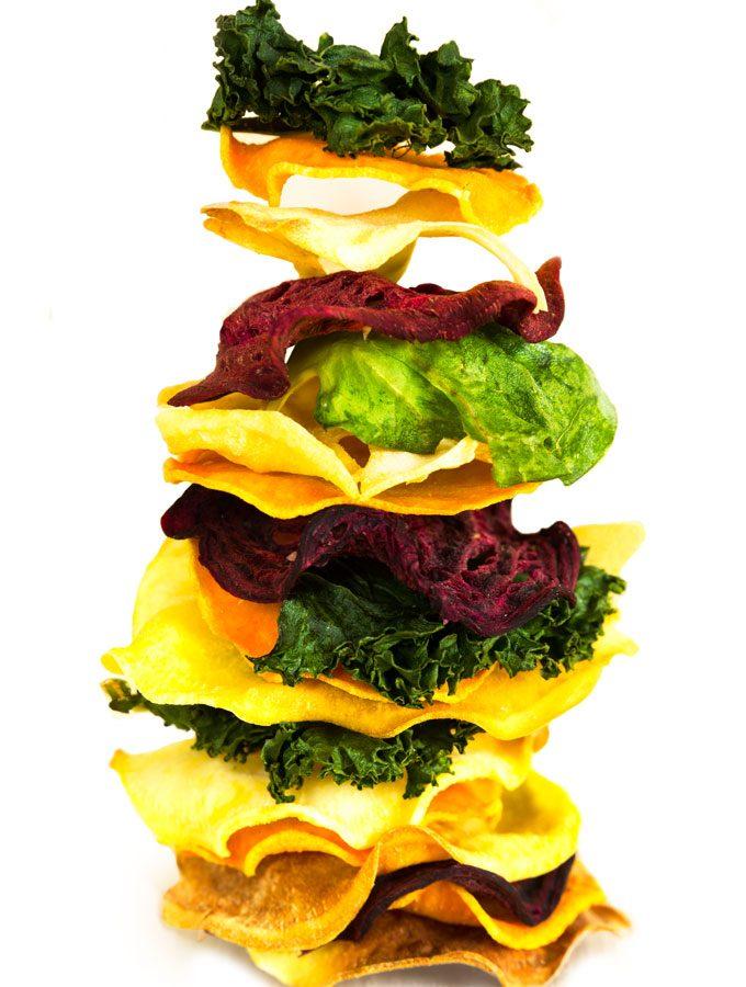 veggie chips - crispy, healthy