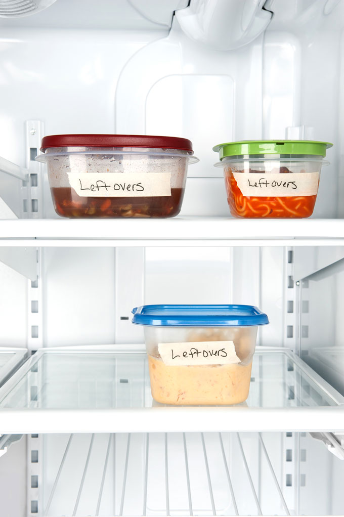 plastic in your kitchen - plastic Tupperware