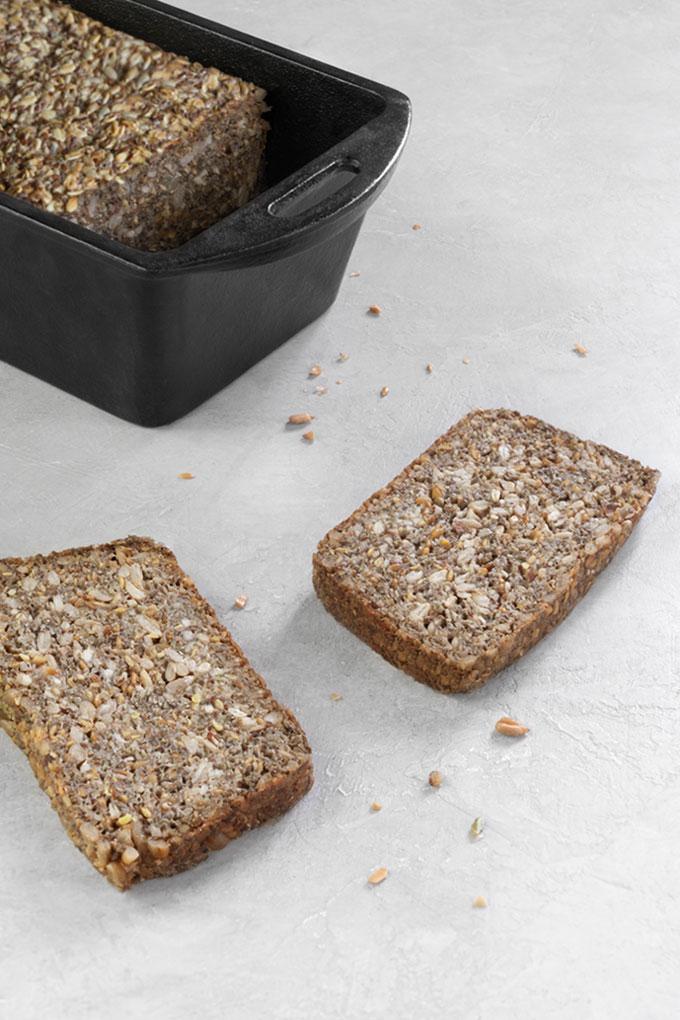 seed bread - vegan, paleo, keto