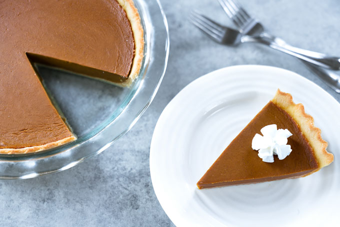 pumpkin pie - no-bake, vegan, paleo