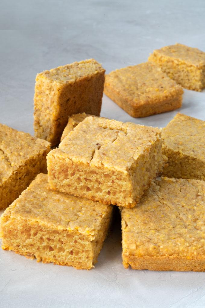 cornbread - vegan, gluten-free, easy