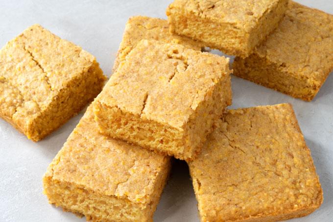 cornbread - vegan, gluten-free, refined sugar free