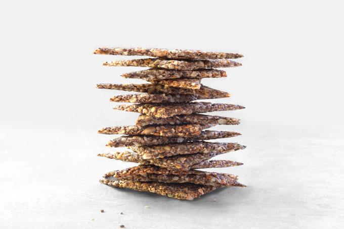nut and seed crackers - vegan, paleo, keto