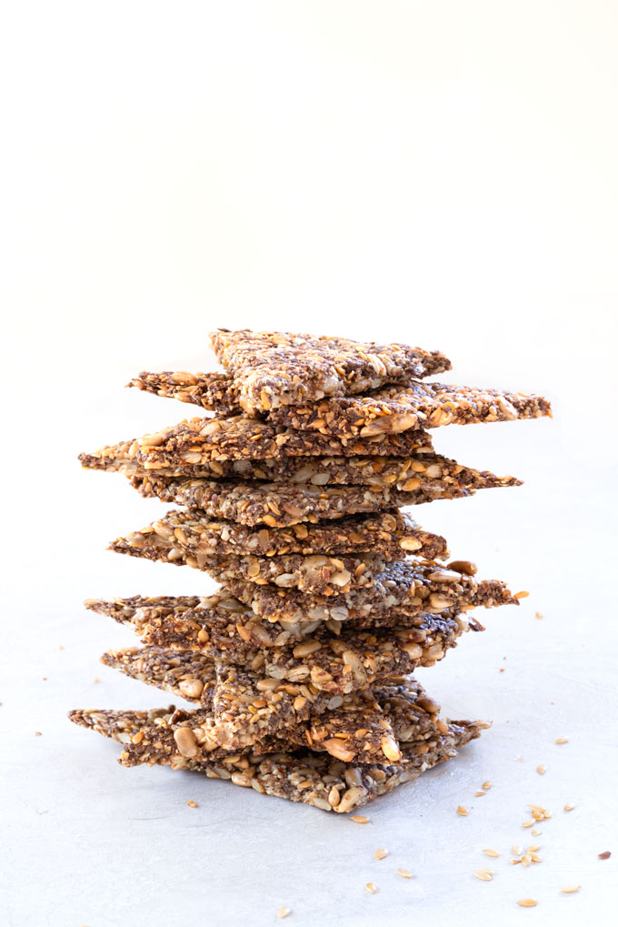 Nut & Seed Crackers {Video}