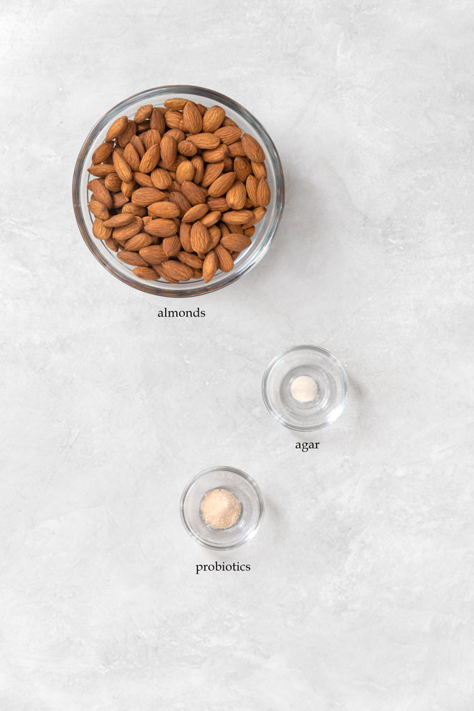 almond milk yogurt ingredients