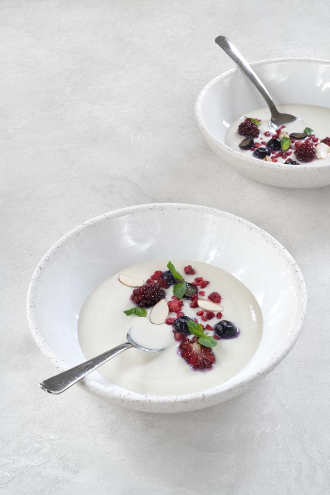 homemade almond milk yogurt recipe