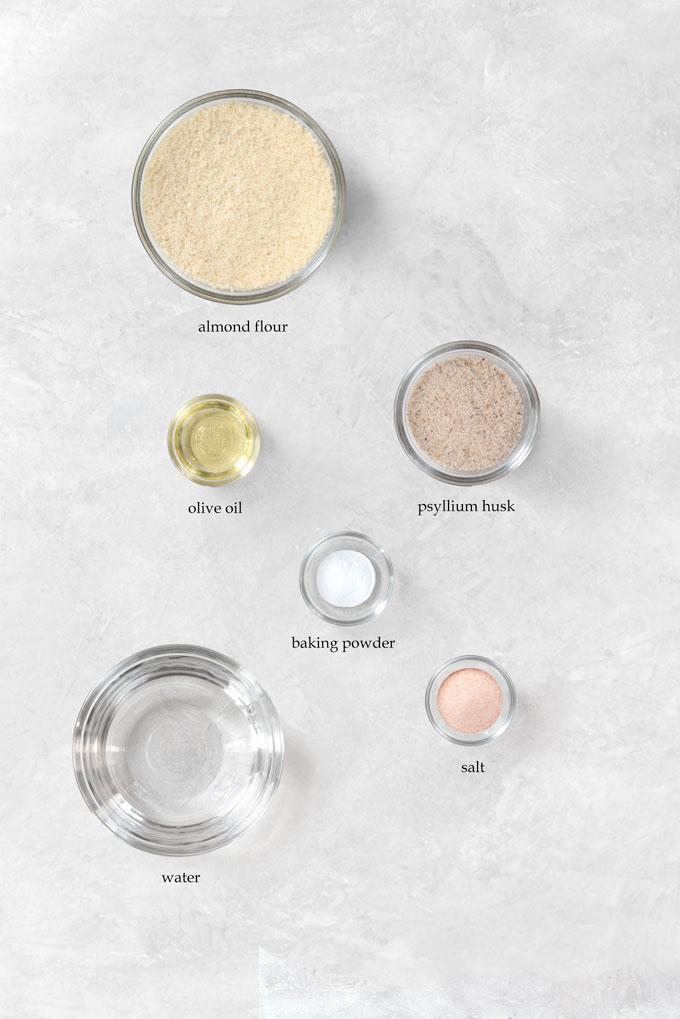 almond flour tortillas ingredients