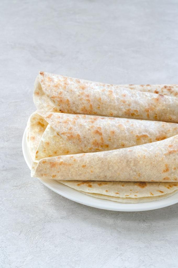 keto tortillas - almond flour tortillas