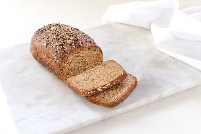 flaxseed bread - low carb bread