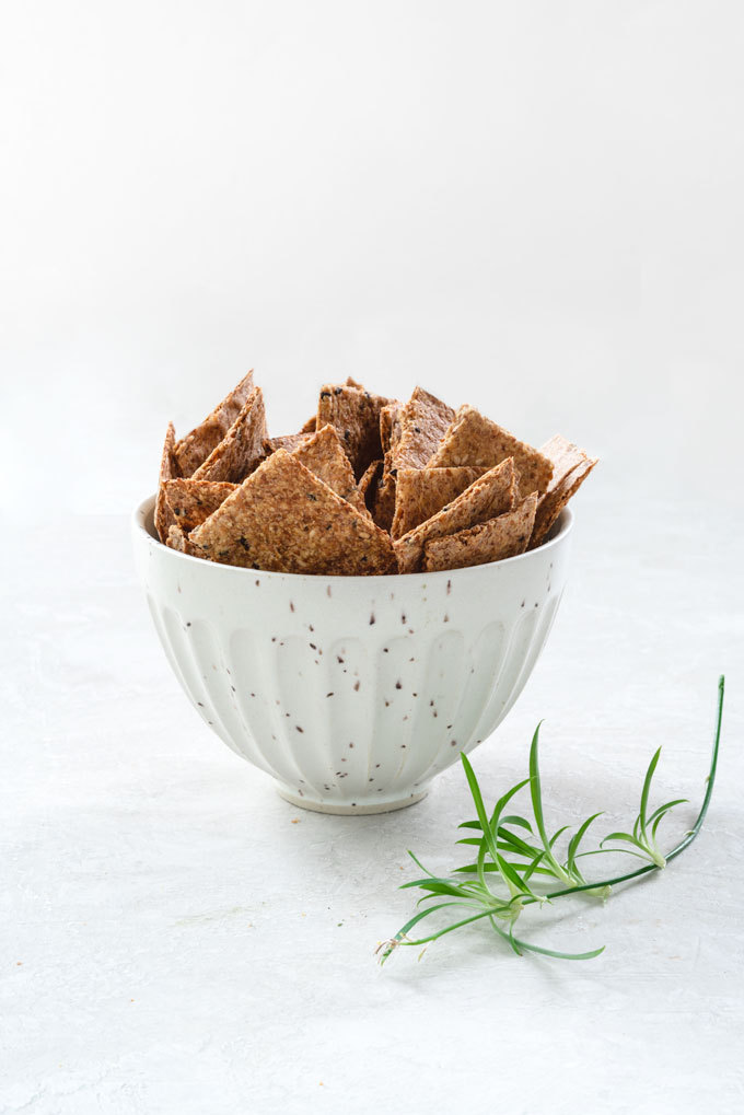 Flaxseed Crackers {Video}