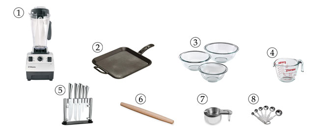 kitchen tools for flaxseed crackers