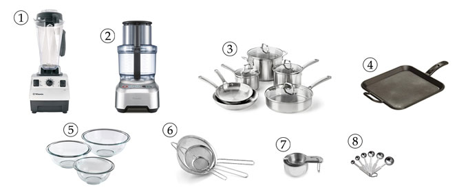 kitchen tools for grain-free breadcrumbs