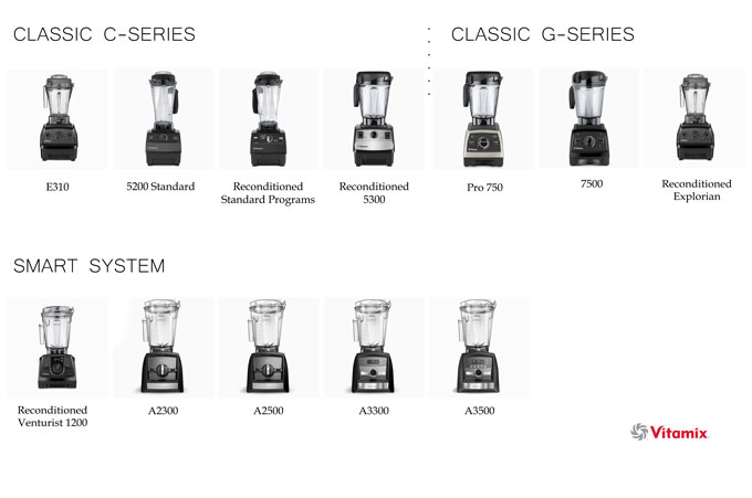 best vitamix blender - model comparisons