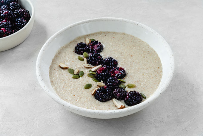 vegan keto porridge - cereal