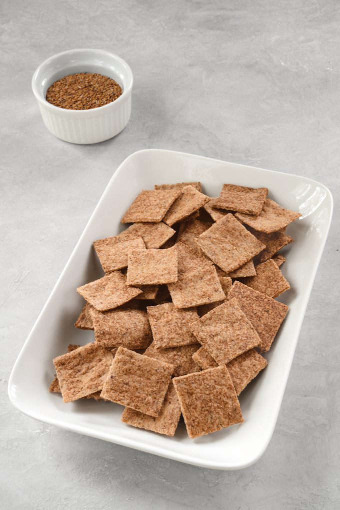 crackers - low-carb, keto, gluten-free, vegan, healthy