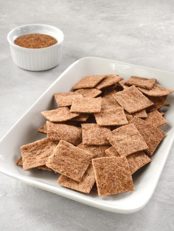 gluten-free low-carb crackers