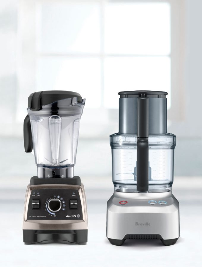 Vitamix vs Food Processor